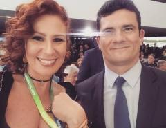"""""""Estou magoada"""", diz Zambelli sobre Sergio Moro"""