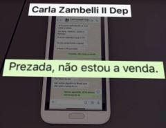 """Abrindo o Jogo: Em conversa com deputada sobre vaga no STF, Moro diz """"Prezada, não estou a venda"""""""