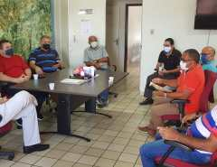 Macaíba: Prefeito recebe comitiva da UPAM