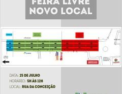 Feira livre de Macaíba volta a ser semanal e tem novo local a partir de 25/07