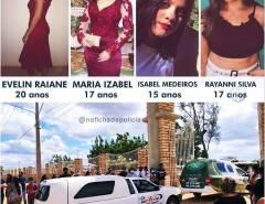 Tragédia: Jovens vítimas de acidente na BR-304 são sepultadas em Mossoró