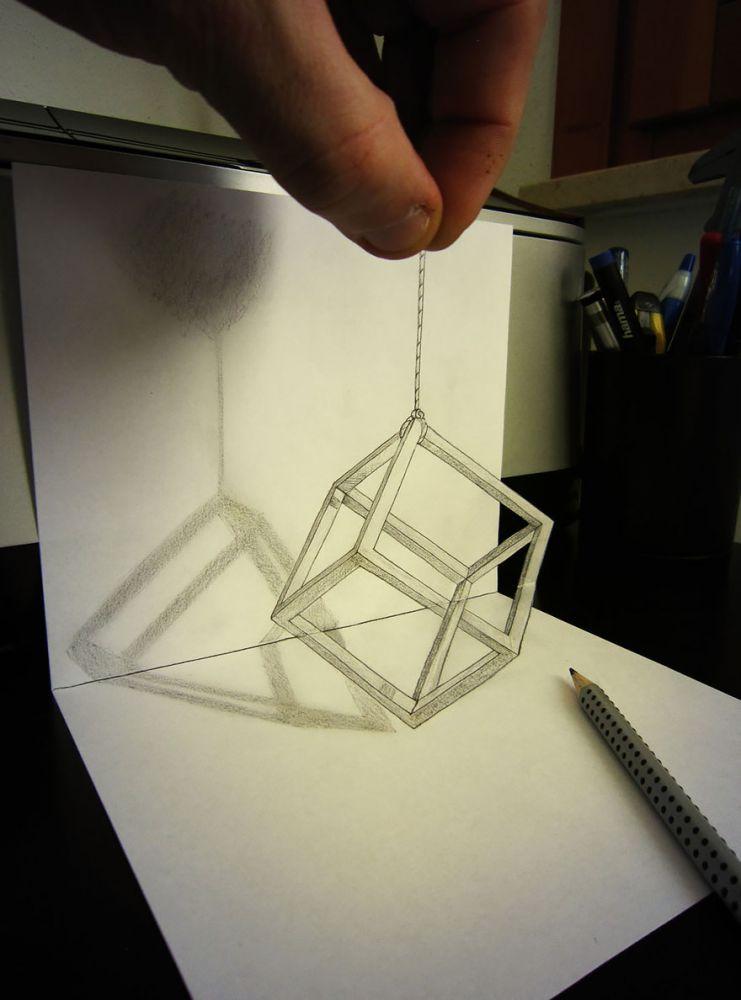 contoh gambar 3 dimensi