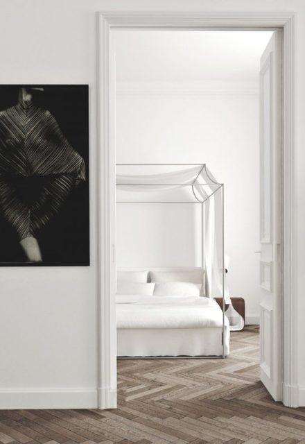 desain kamar tidur minimalis yang tampak mewah