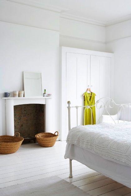 desain kamar tidur minimalis putih