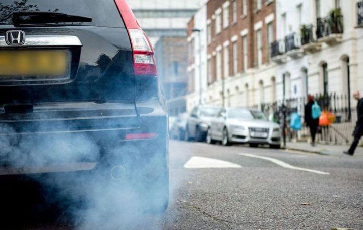 penyebab pencemaran udara asap kendaraan