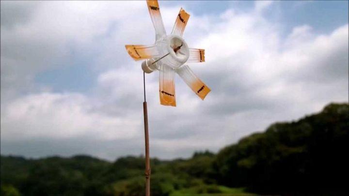 Mainan dari Botol Bekas - Kincir Angin