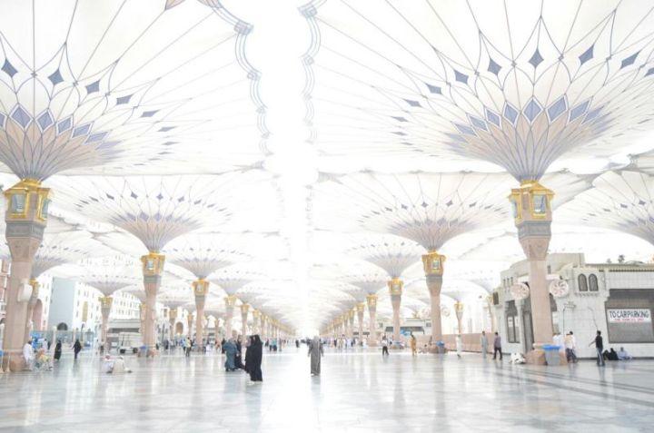 BACKGROUND KEREN halaman masjid masjidil haram