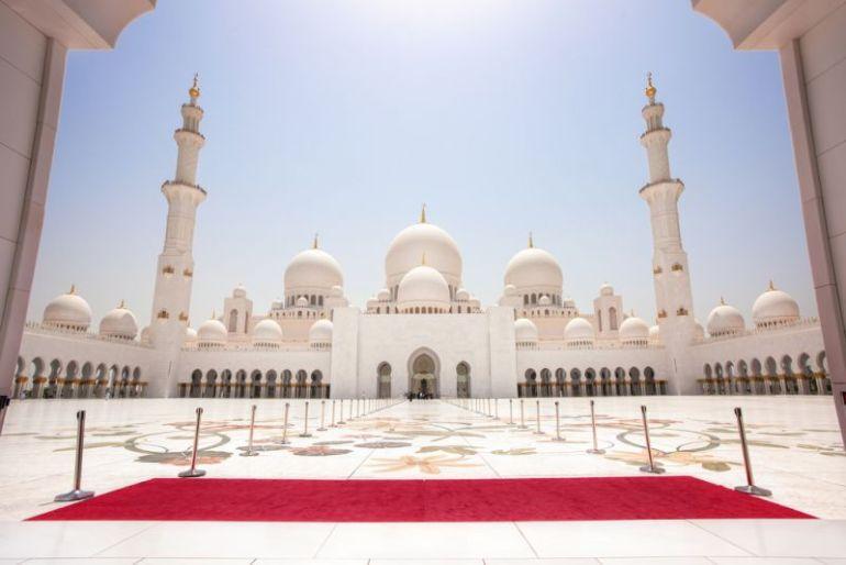 BACKGROUND KEREN islam masjid syeikh zayed