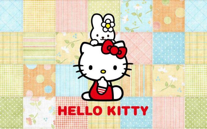 Background Hello Kitty lucu