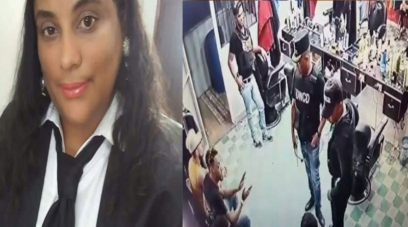 VIDEO: Arrestan exfiscal y agentes de DNCD por allanamiento en Montecristi –