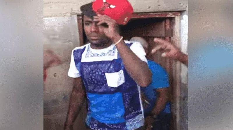 VIDEO: Capturan Supuesto ladrón de banca en Navarrete –