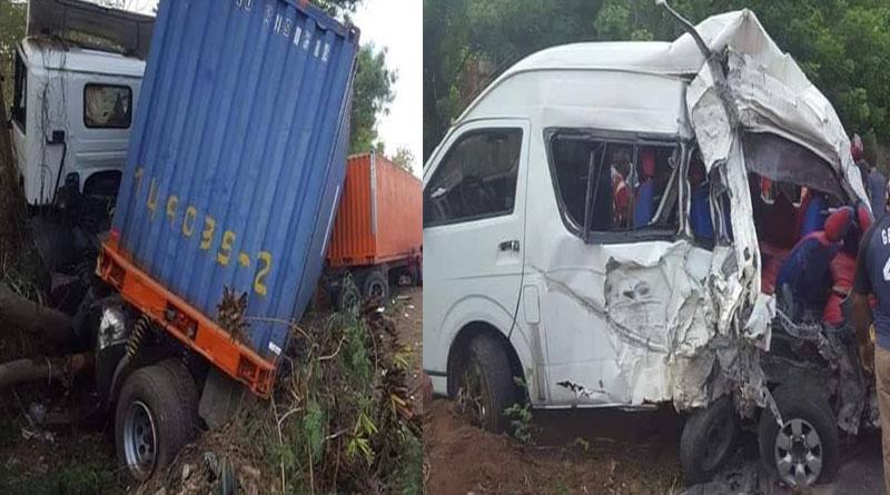 VIDEO: Accidente en Autopista Duarte, próximo a La Vega, deja 2 muertos y 8 heridos –