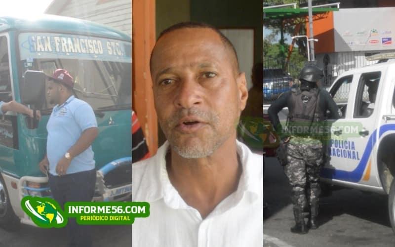 Video: Conflicto entre choferes y dueños de guaguas ruta SFM – Santo Domingo –