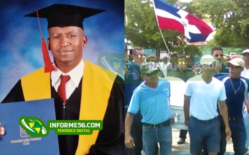 Video: Dan último adiós al abogado Cristian González en SFM –