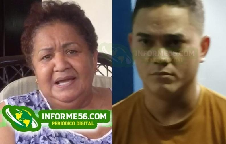 Video: Odilín Morel entrega acusado de participar en asalto a una policía en SFM –