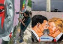 Grafitero dominicano planta cara al coronavirus en los muros de Berlín