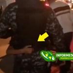 Video: Niña impide que apresaran a sus padres en medio del toque de queda