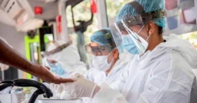 Salud Pública notifica siete muertes y 395 contagios de coronavirus