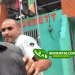 Video | Digesett le entra a trompadas a hombre reclamaba multa
