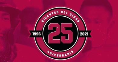 A 25 años de la fundación del equipo Gigantes del Cibao