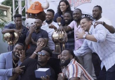 Toros del Este reciben anillos de campeonato