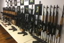 Policia Militar bate recorde de apreensões de fuzis