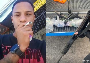 Foto de Gerente do tráfico é morto em Anchieta em tiroteio com a polícia