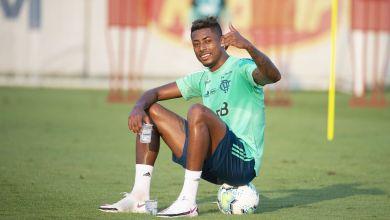 Foto de Em recuperação de edema no joelho direito Bruno Henrique volta a treinar