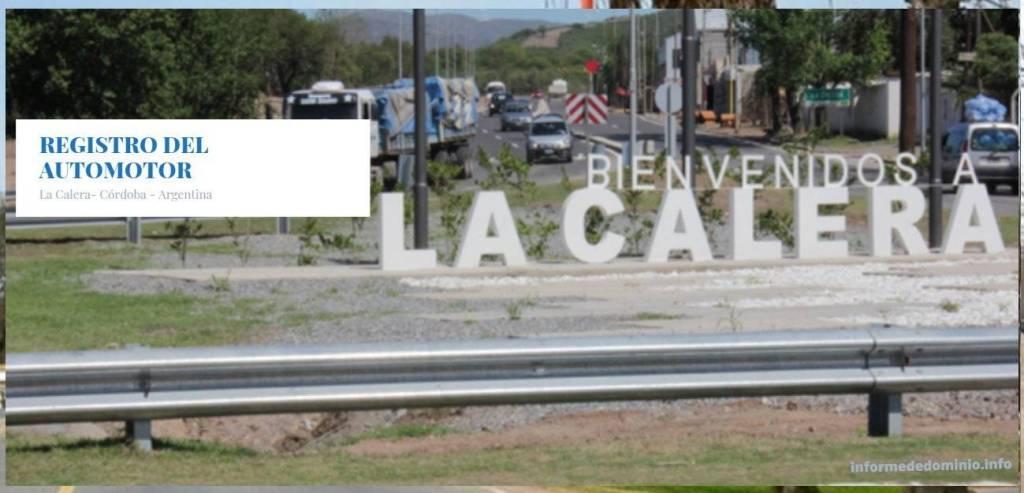 Registros Automotor La Calera