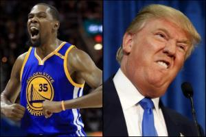 Kevin Durant Donald Trump White House