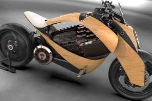 Is this what the motorcycle of the future looks like?