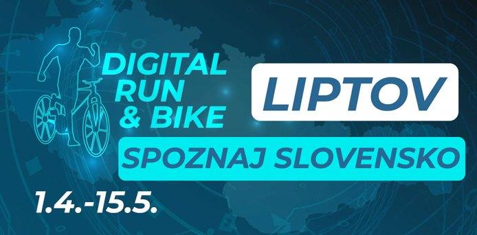 Digital Run & Bike – Spoznaj Slovensko – Liptov