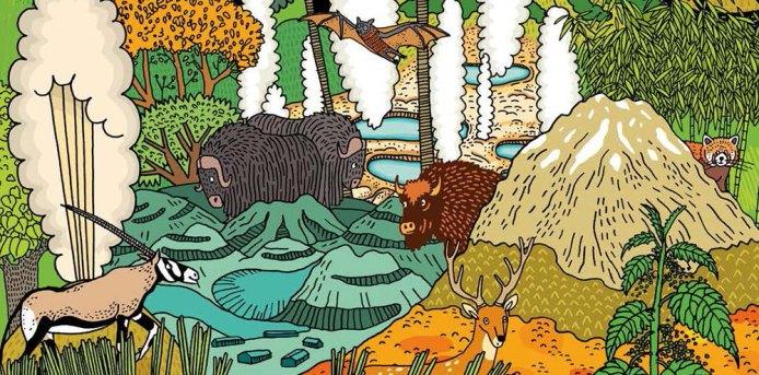 Ako ďaleko je do Yellowstonu? Spoznajte príbehy zubra a veveričky.