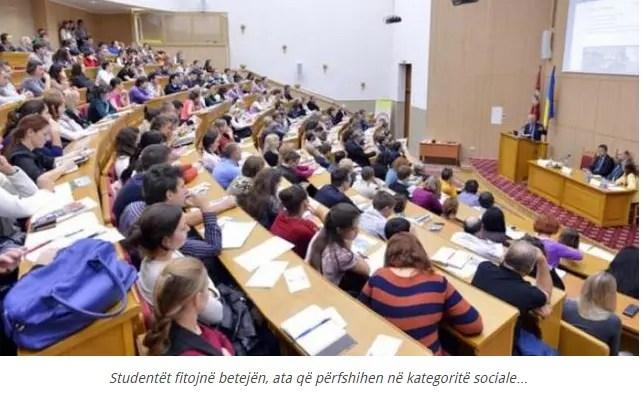 Aleanca Kombëtare e Studentëve fiton betejën, përjashtohen nga pagesa…