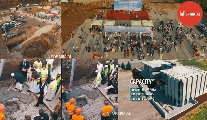 Sot u hodhën themelet për ndërtimin një shkolle të re në fshatin Mengel të qytetit të Elbasanit.