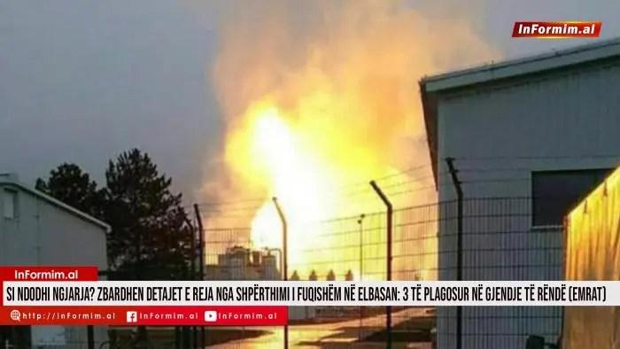 Si ndodhi ngjarja? Zbardhen detajet e reja nga shpërthimi i fuqishëm në Elbasan: 3 të plagosur në gjendje të rëndë (EMRAT)