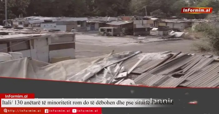 Itali/ 130 anëtarë të minoritetit rom do të dëbohen në situatë Pandemie