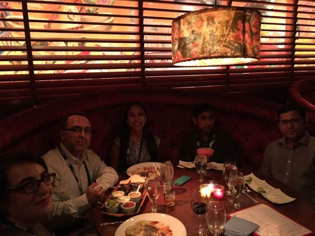 Get together dinner INFORMS 2015