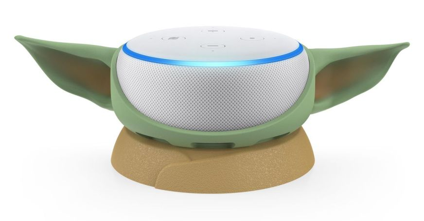 Who wouldn't want their Echo Dot to look like Baby Yoda ...