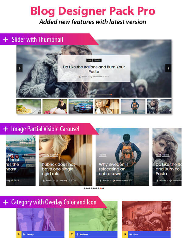 News & Blog Designer Pack Pro - News and Blog Plugin for WordPress - 1