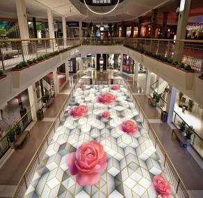 Adhesivos-para-pisos-de-vinilo-personalizado-Rosa-flores-suelo-insonorizadas-wallpaper-3d-suelos-de-piso-de