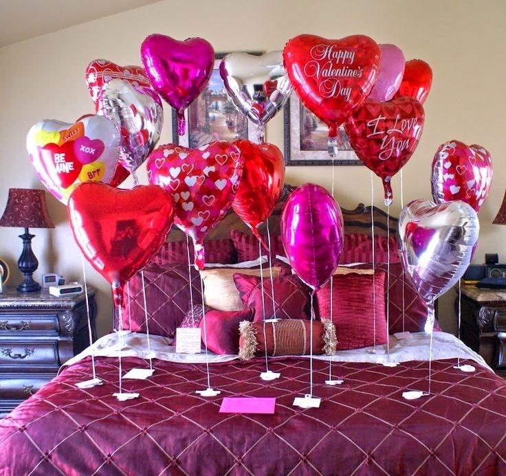 decoración con globos para aniversario en cantabria