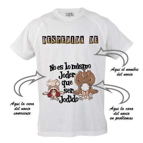 Camiseta-despedida de soltero