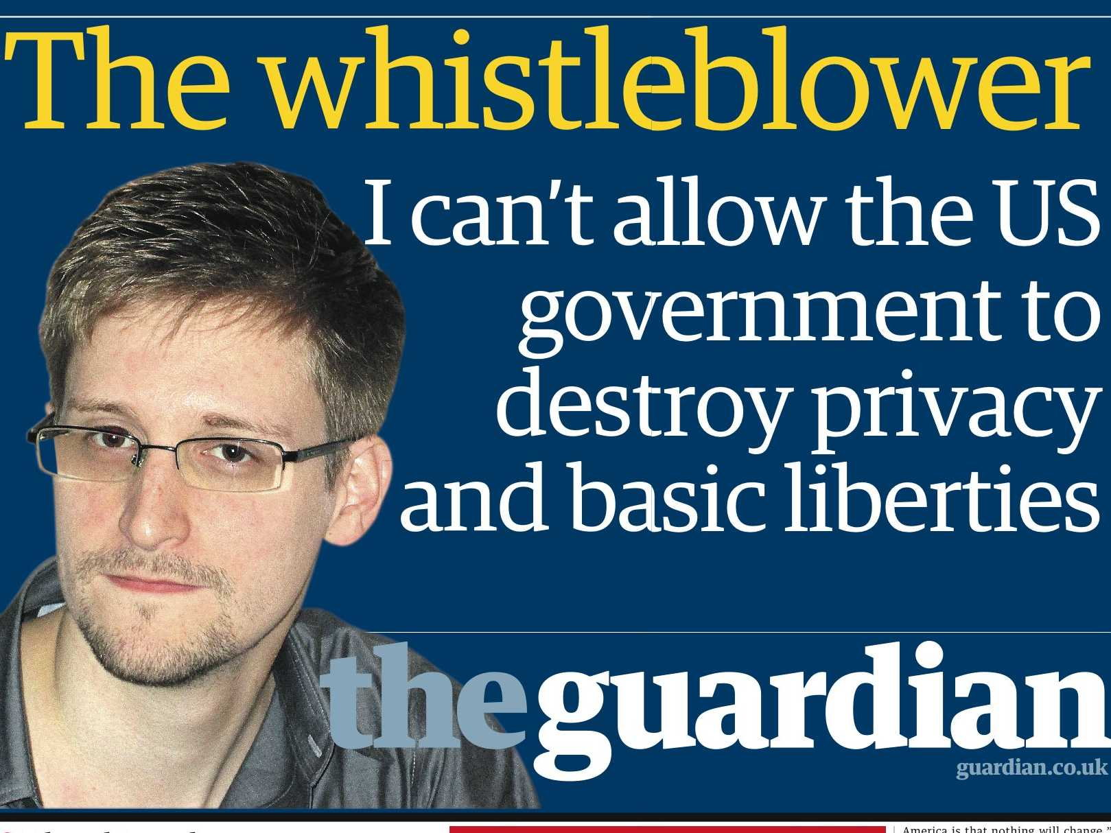 The State Journalism is in: Edward Snowden and the British Press