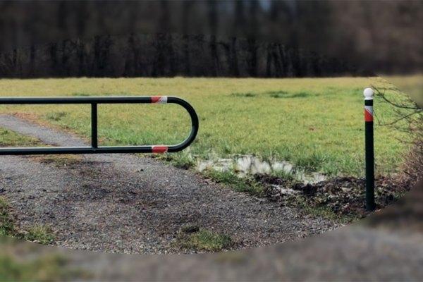 Barrières de protection des chemins