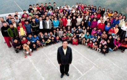Info Santai: Lelaki ini Mempunyai 39 Isteri dan 94 Anak !
