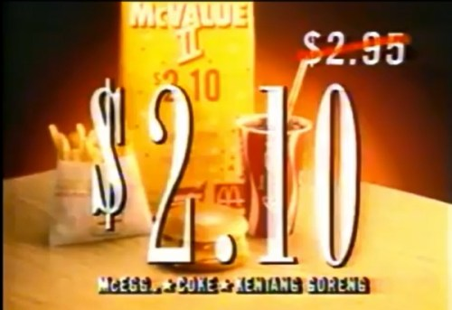 McValue Set with McEgg