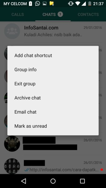 Shortcut Chat