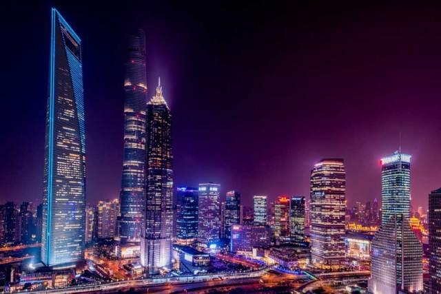 teknik long exposure bandar waktu malam