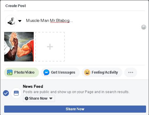buat post pertama